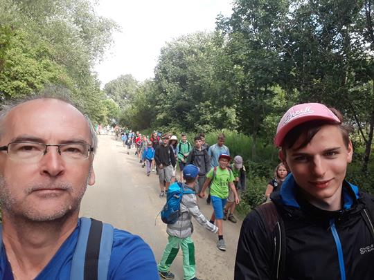 Petr Havelka je moderní člověk. Cizí mu nejsou ani selfie.